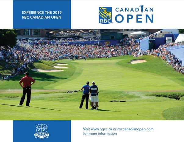 2019 RBC Canadian Open - The Hamilton Golf & Country Club